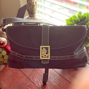 Lauren Ralph Clutch/Strap Bag